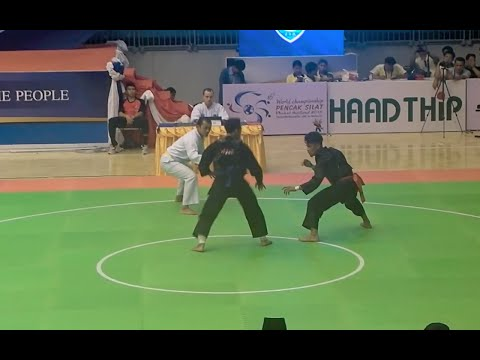 Highlights – Pencak Silat World Championships 2015 – Malaysia VS Indonesia – Class E Finals