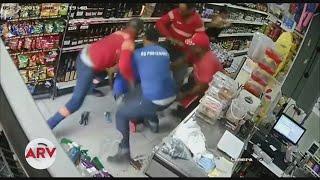 Captan fuerte golpiza a ladrón en República Dominicana | Al Rojo Vivo