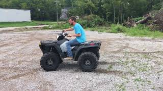 7. 2005 Polaris 800 ATV 50th Anniversary - For sale in Lewisburg, TN
