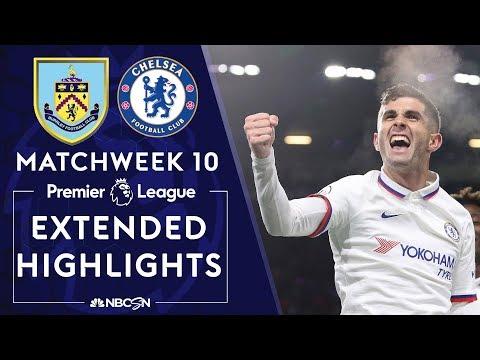 Burnley v. Chelsea | PREMIER LEAGUE HIGHLIGHTS | 10/26/19 | NBC Sports