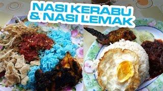 Dungun Malaysia  city photos : Nasi Kerabu & Nasi Lemak - WARUNG 3 AN NOR, Dungun, Malaysia