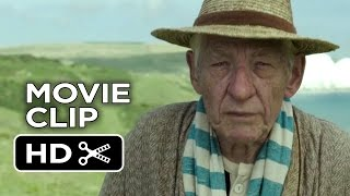 Mr. Holmes Movie CLIP - I Didn't Actually Know Him (2015) - Ian McKellen Mystery Movie HD