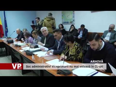 Șoc administrativ! Viceprimarii nu mai votează în CL-uri