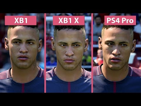 FIFA 18 – Xbox One X Vs. PS4 Pro Vs. Xbox One Graphics Comparison