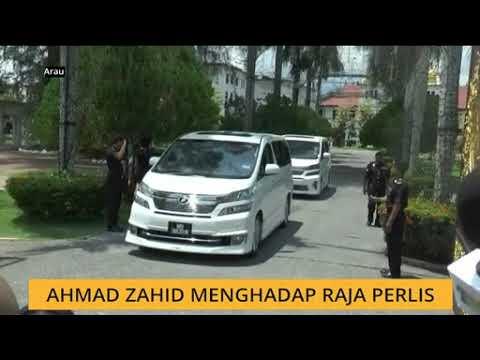Ahmad Zahid menghadap Raja Perlis