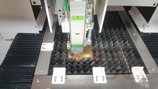 Small Precision Fiber Laser Cutting Machine youtube video