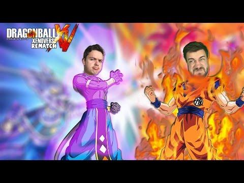 BATTLE OF GODS!! Super Saiyan God Goku vs Beerus | Dragon Ball Xenoverse Rematch Battles