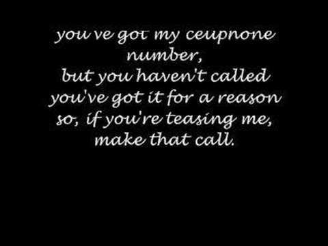Tekst piosenki Plain White T's - Cell Phone po polsku