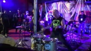 Rampak Ahay- Zapin- Hangout and Jamming Belitong 2015 Video