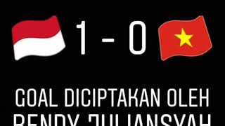 Video Final indonesia u16 vs vietnam u16 skor 1 - 0 , indonesia juara MP3, 3GP, MP4, WEBM, AVI, FLV Maret 2018