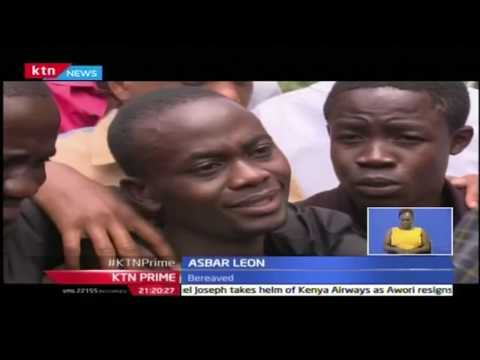 KTN Prime: Families affected by Mandera Terror identify bodies at Chiromo mortuary, 26/10/16