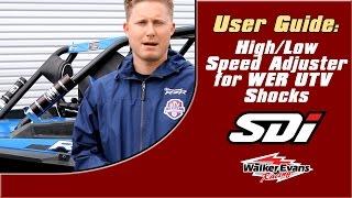 6. SDI High/Low Speed Adjuster User Guide