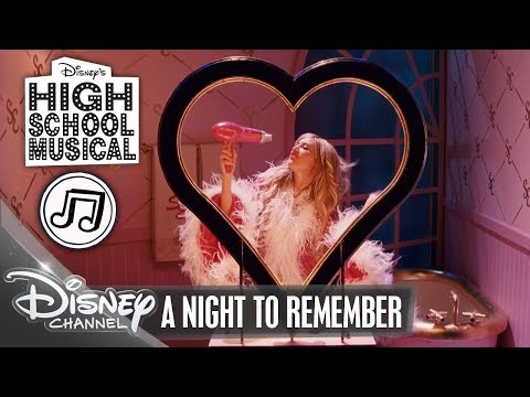 High School Musical - Song: A Night To Remember - im DISNEY CHANNEL #HSM10