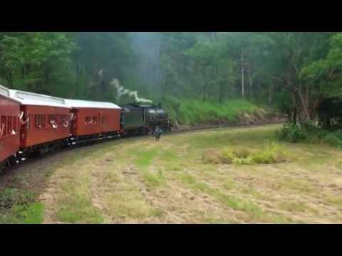 Steam Train - Cairns to Kuranda