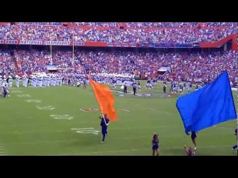 2012 Florida Gators vs Bowling Green Falcons