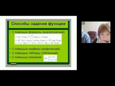 Функциональная линия в курсе алгебры7-9 классов Г. К. Муравина, К. С. Муравина и О. В. Муравиной