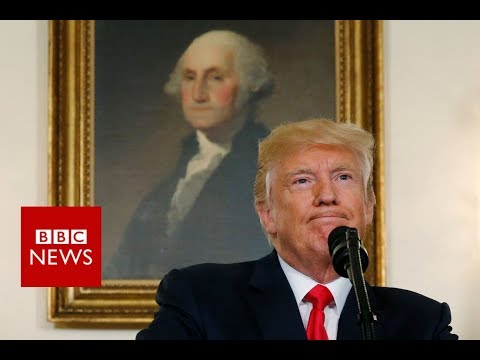 Trump condemns 'hatred and violence' in Charlottesville - BBC News