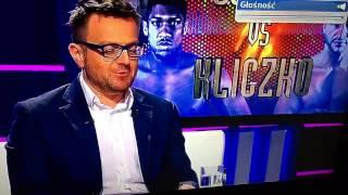 Pijany Mariusz Wach na żywo komentuje wynik walki Joshua – Kliczko w Polsacie Sport :D