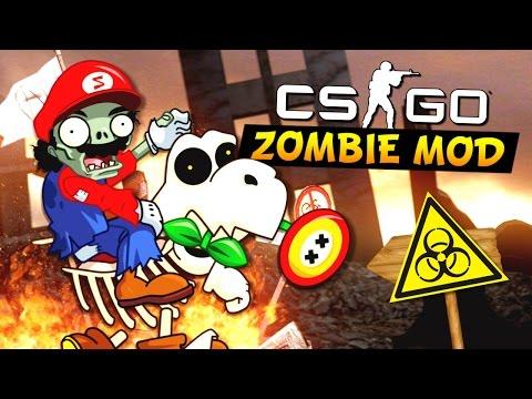 CS:GO - Зомби-Марио!?