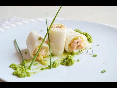 Involtini di daikon   ricetta 5x5 Robysushi