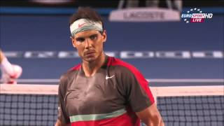 Tennis Highlights, Video - Rafael Nadal Vs Stanislas Wawrinka Australian Open 2014 FINAL 2 SET/Second Set 720 HD