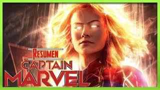 Capitana Marvel *resumido* en 5 minutos o menos | (RESUMEN DE CAPITANA MARVEL)