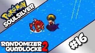 16 | THE EEVEELUTION OF GYARADOS | Pokémon SoulSilver Randomizer Quadlocke 2 by Ace Trainer Liam