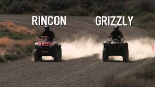 5. Grizzly 700 vs Rincon 680 - Workability