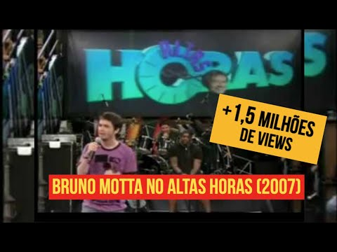 Bruno Motta - Comédia Stand up no Altas Horas