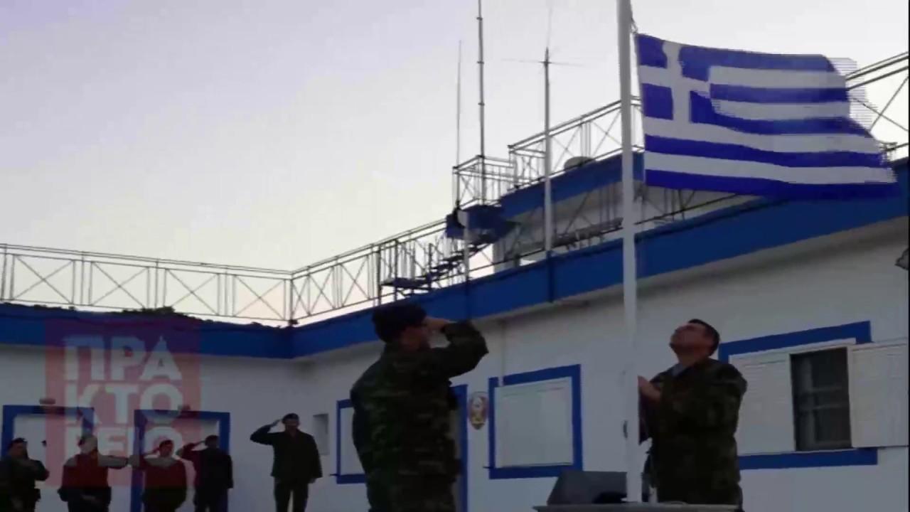 Επίσκεψη του αρχηγού ΓΕΣ στο φυλάκιο Καλολίμνου