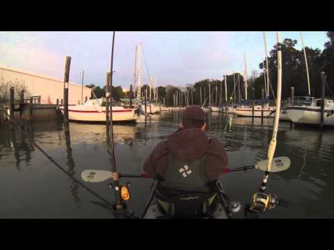 Back to Back Speckled Trout - kayak fishing, kayak photos, kayak videos