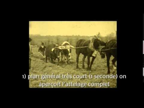 l'abbé Cochard filme Coron en 1953
