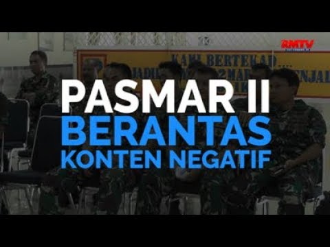 Pasmar II Perangi Konten Negatif