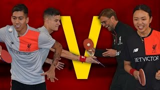 Video Coutinho & Firmino Vs Klopp & Liu | Year of the Rooster Table Tennis Challenge MP3, 3GP, MP4, WEBM, AVI, FLV Maret 2018