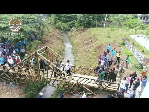 Peresmian IPAL Wetland-Biocord di Karawang