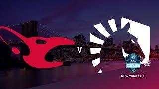 mousesports vs Liquid - ESL One NY 2018 Grand final - map4 - de_dust2 [Enkanis, ceh9]