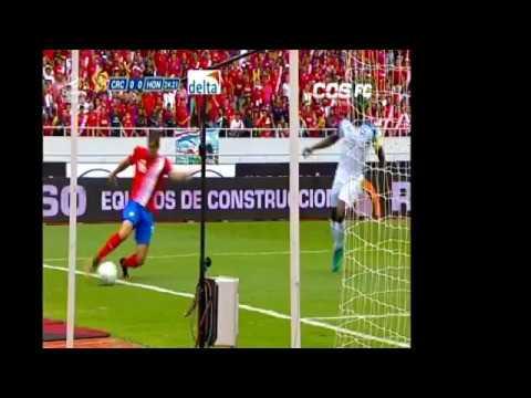 Costa Rica 1 Honduras 1.Cable Onda Sports Panama