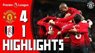 Download Video Highlights | Manchester United 4-1 Fulham | Premier League MP3 3GP MP4