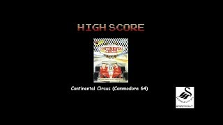 Continental Circus (Commodore 64 Emulated) by gazzhally