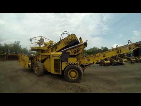 WEILER ASPHALT PAVERS E1250A equipment video eLjIdof9K1k