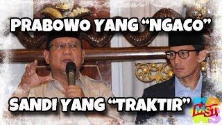 """Video Prabowo yang """"Ngaco"""", Sandi yang """"Traktir"""" MP3, 3GP, MP4, WEBM, AVI, FLV Januari 2019"""