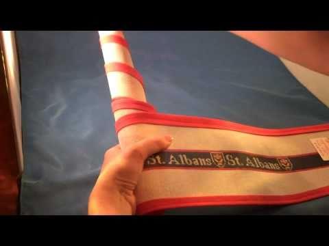 how to needlepoint belt