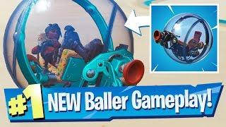 NEW Baller Vehicle Gameplay - Fortnite Battle Royale