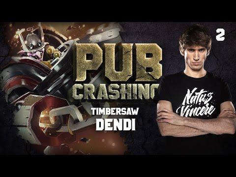 Pubs Crashing: Dendi on Timbersaw vol.2