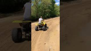 7. Arctic Cat VLX 700 driving dirt roads in Ocala