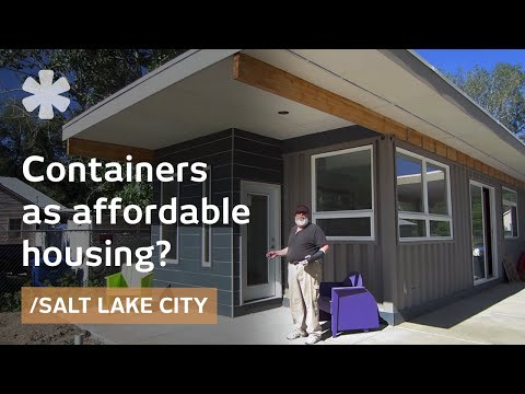 containers - Real estate broker Jeff White dreamed of transforming used shipping containers into affordable housing. Laughed at by the first architects he approached, he ...