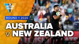 Australia v New Zealand Rd.1 2020 TriNations video highlights