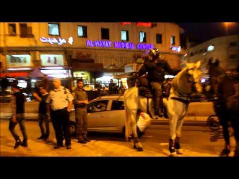 قمع تظاهرة سلمية في القدس ضد مخطط برافر الصحفية ديالا جويحان