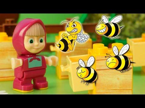 Мультики Маша и Медведь новые серии Мишкина помощница Мультфильмы Для детей Развивающие видео детям (видео)