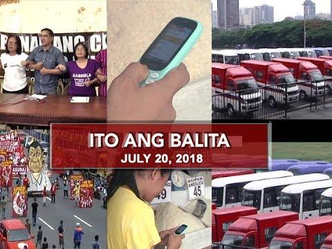 UNTV: Ito Ang Balita (July 20, 2018)